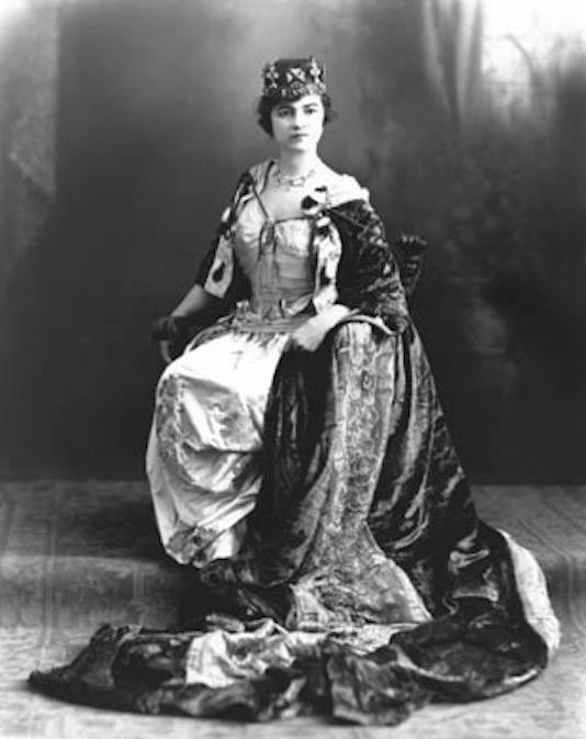 Reina carnaval 1912 Ramona Lefevre