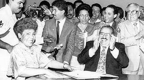 Los inicios de Mayín Correa en la política