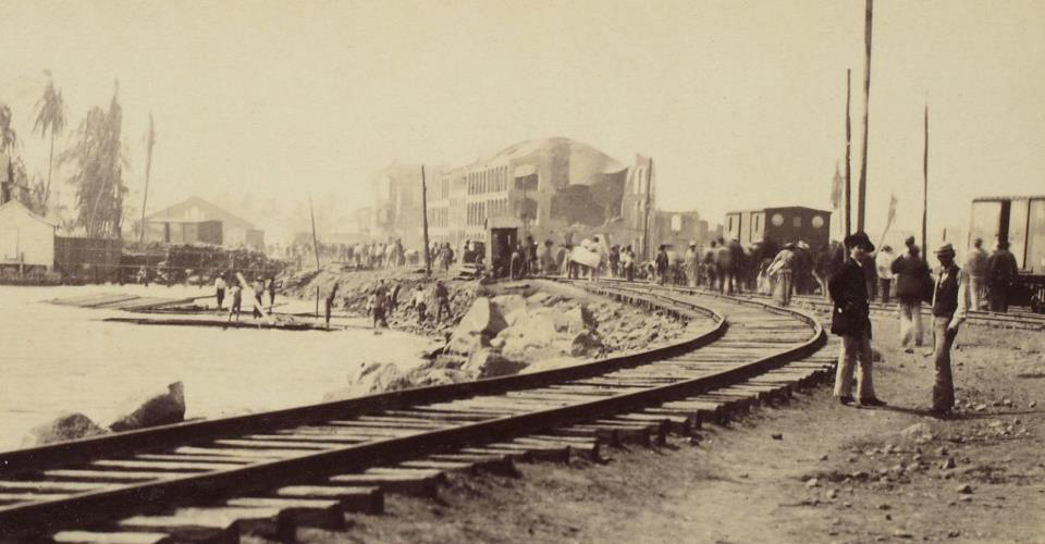 El gran terremoto de Panamá de 1882