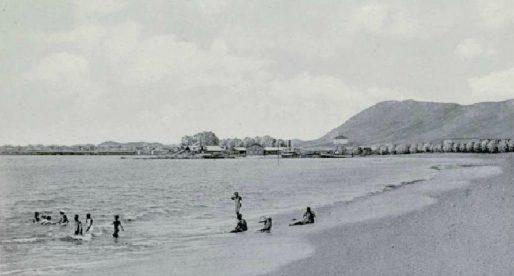 Las desaparecidas playas de la Ciudad de Panamá