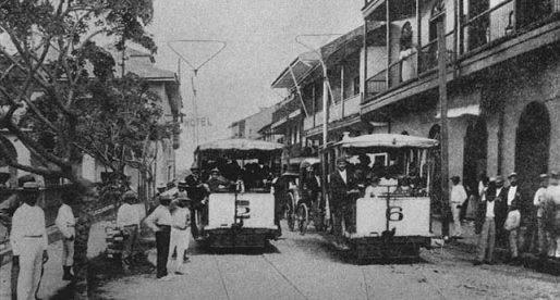 La historia del tranvía en Panamá