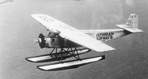 La corta historia de la aerolínea Isthmian Airways