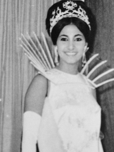 Blanca Clement reina del carnaval 1968