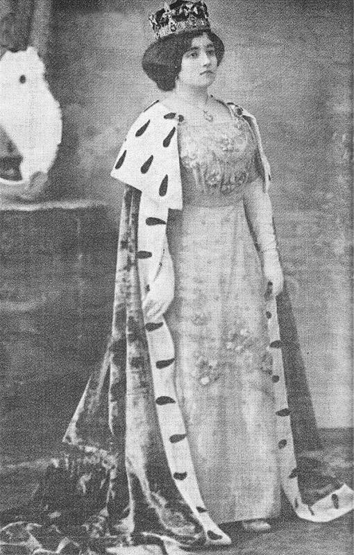 Reina carnaval 1913 Laura Arjona