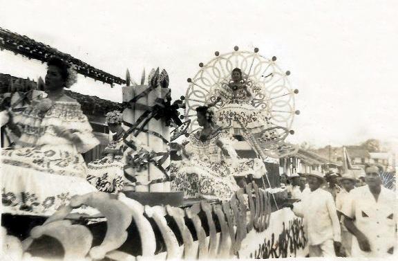 Carnaval 1958 calle arriba las tablas