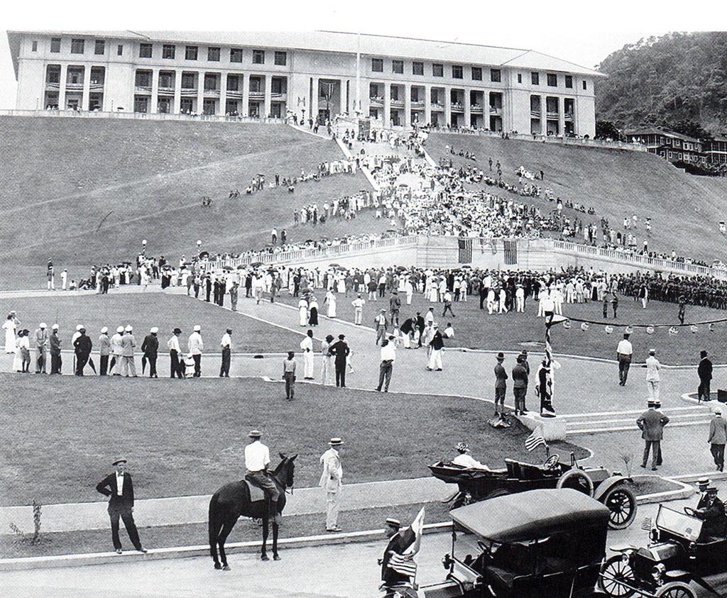 Celebración del 4 de julio en Balboa Año 1915