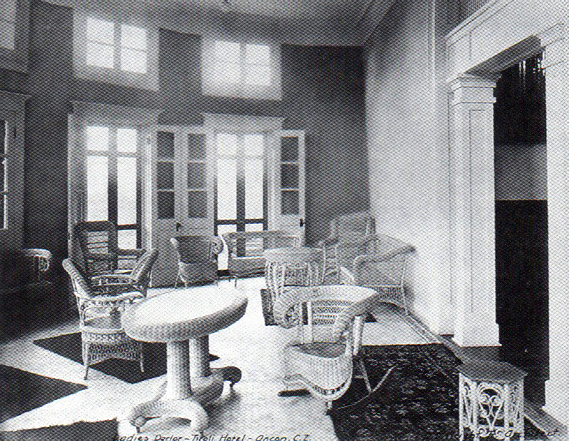 Salón de damas del Hotel Tivoli