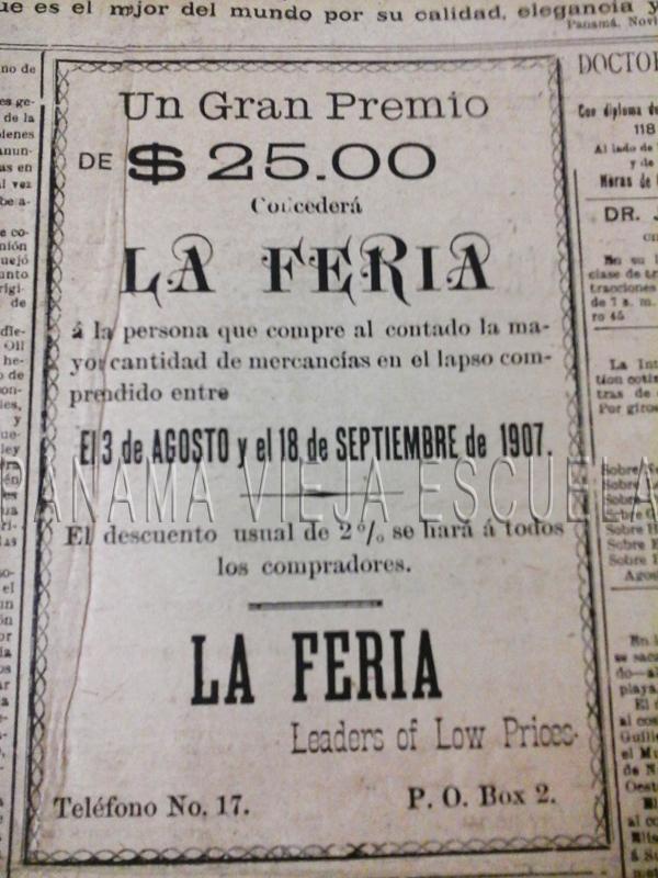 $25 en 1907 era bastante dinero.