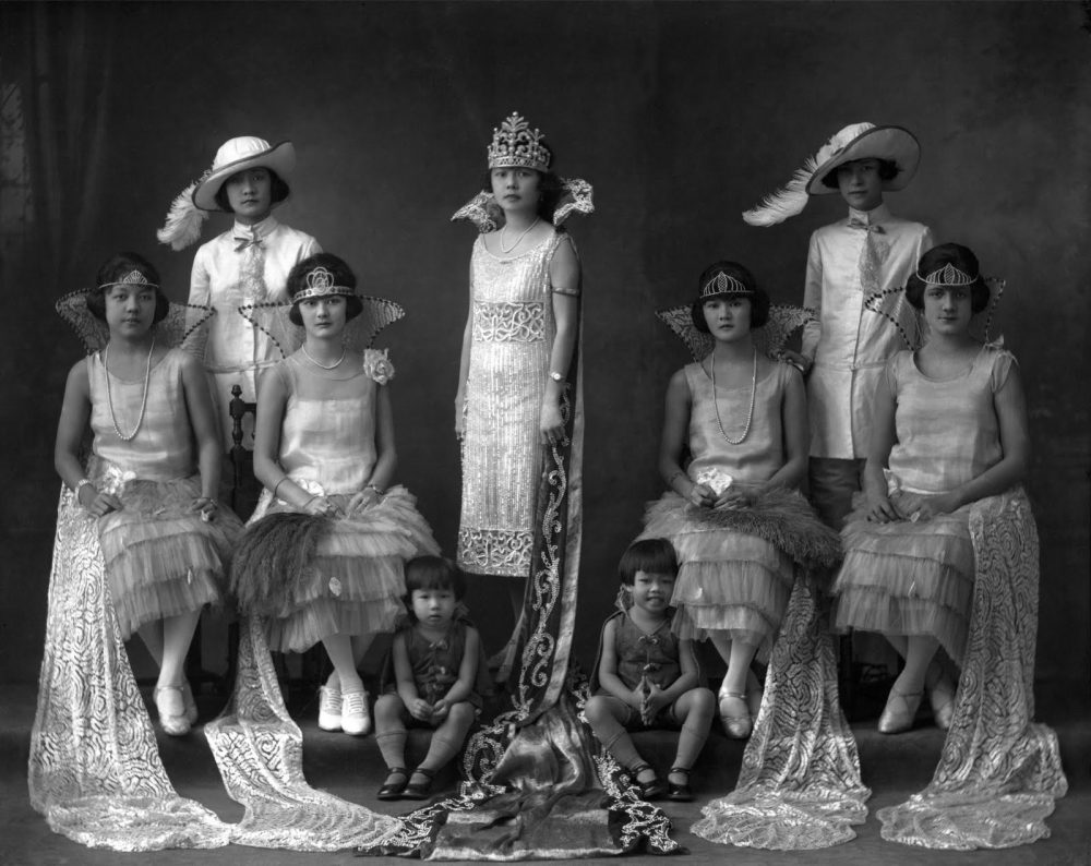 Reina del Carnaval de la colonia chino-panameña 1925