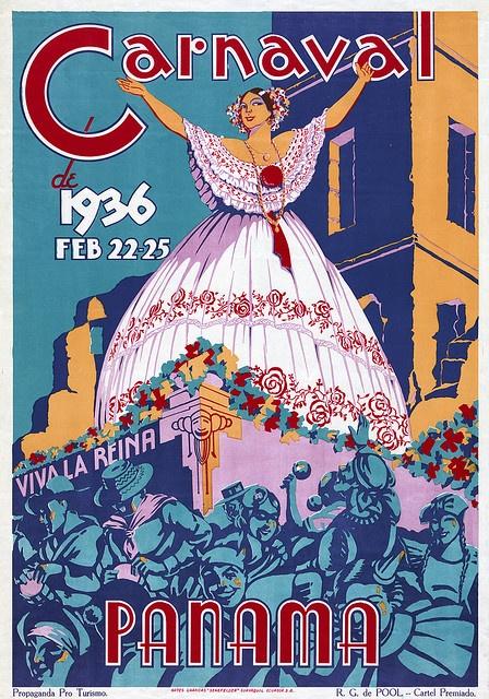 carnaval 1936 afiche