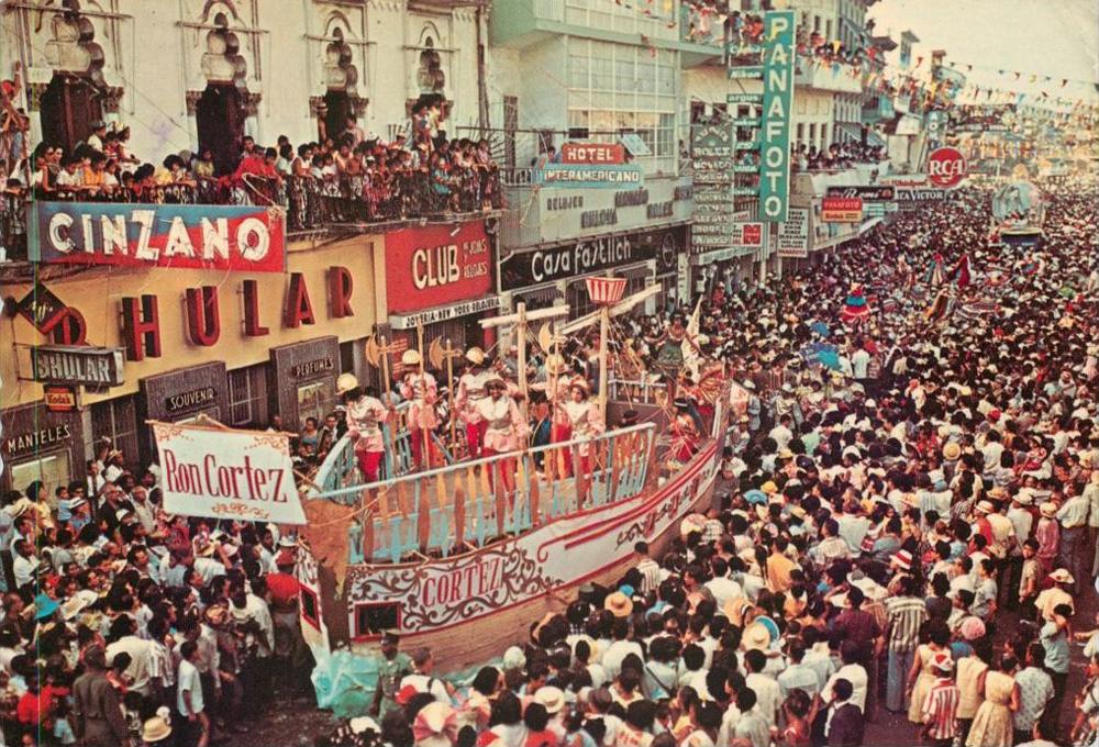 carnaval en la central