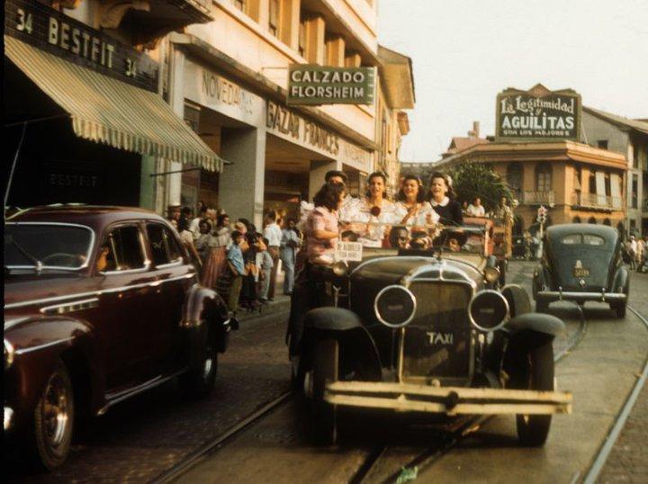 carnaval panama 1945