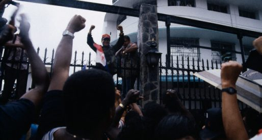 La crisis política panameña de 1987-1989