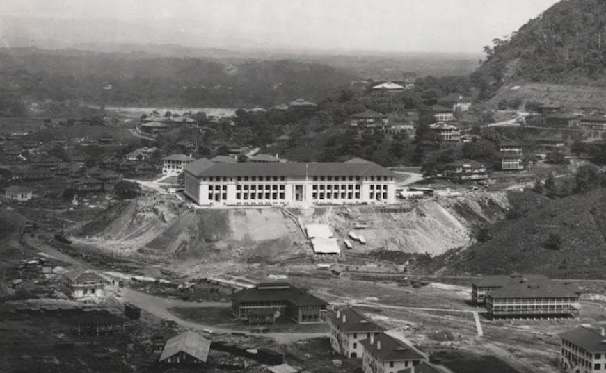 Panama Vieja Escuela - Administration Building - 2