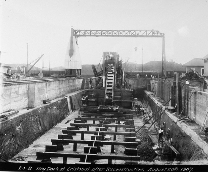 construccion canal panama 88