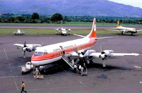 Avión Electra L-188