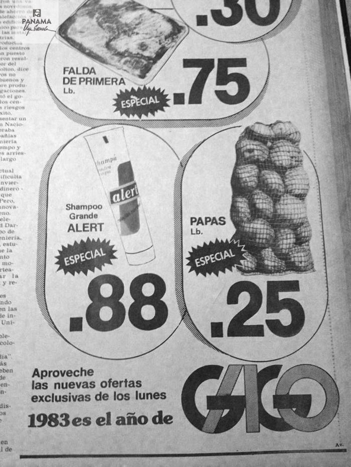 ofertas gago 1983