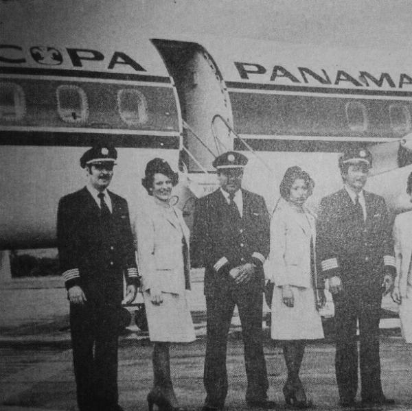 pilotos y tripulacion mediados de los 70