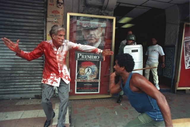 10 de mayo de 1989: ataque de los Batallones de la Dignidad