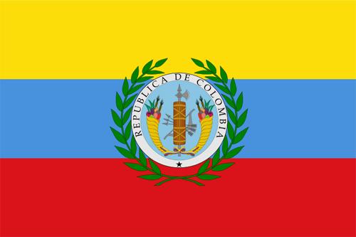 Bandera de la Gran Colombia
