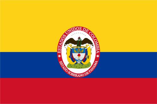 Bandera del Estado Soberano de Panamá