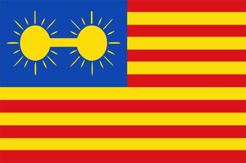 Diseño bandera panama de Phillipe Bunau-Varilla