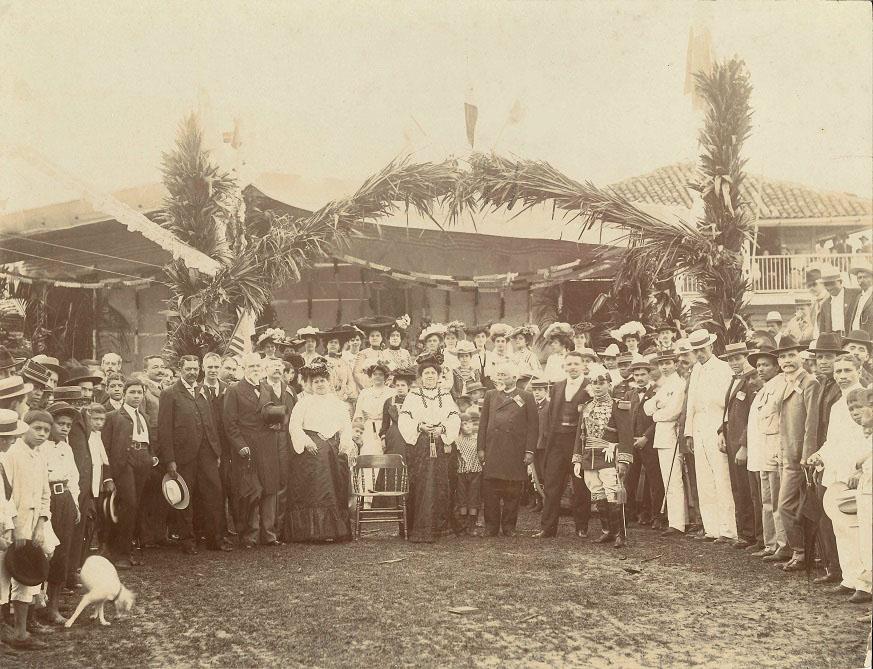 acto de bautizo bandera panama 20 diciembre 1903