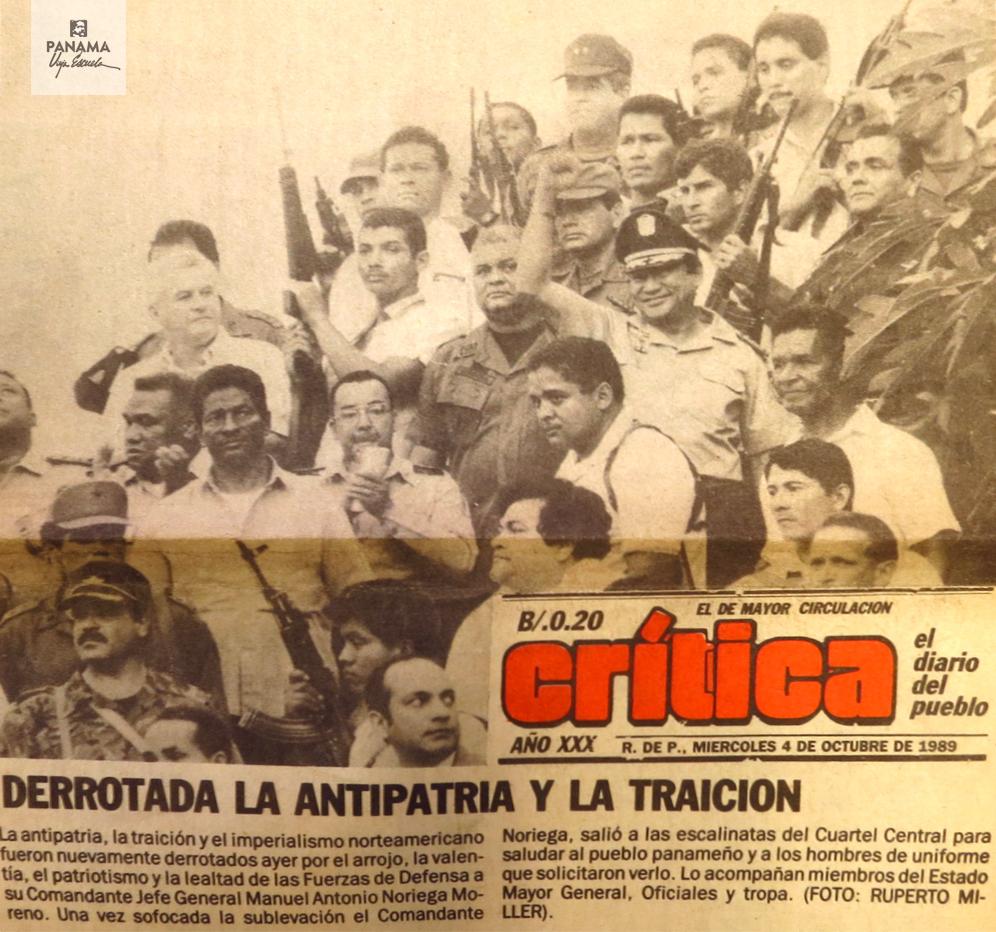 imagen primera plana critica 4 octubre 1989