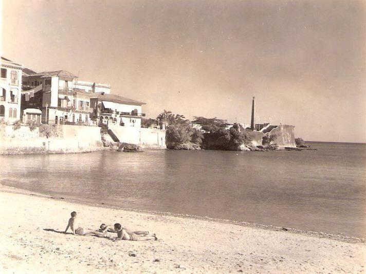 playa casco viejo años 50