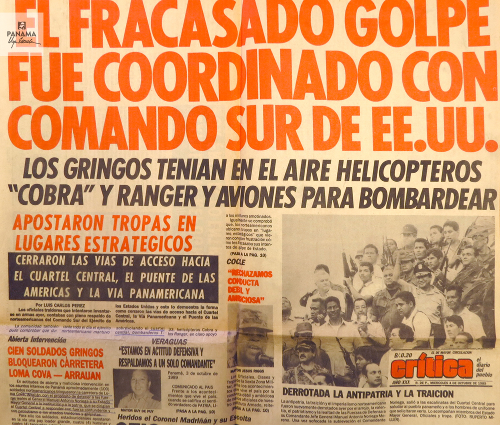 portada critica dia 4 de octubre de 1989