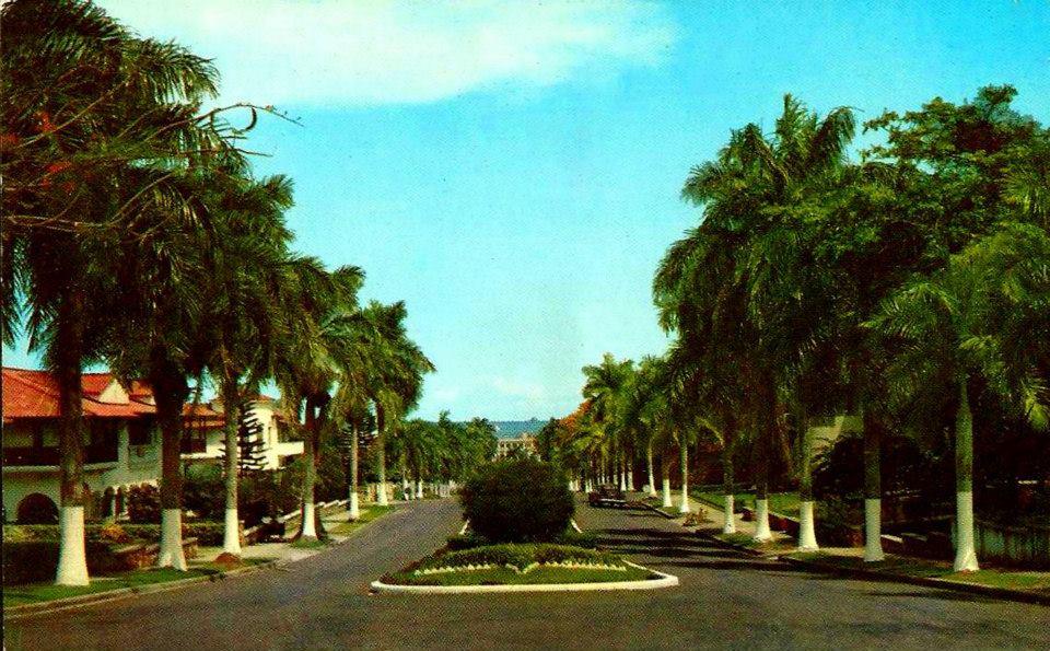 La Ciudad de Panamá en la década de 1950