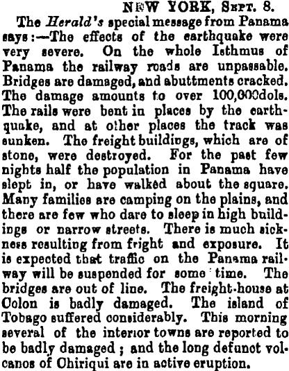 recorte new york herald terremoto panama 1882