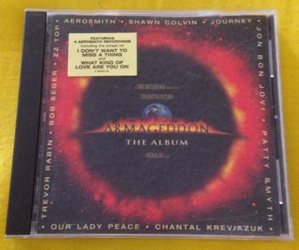 CD soundtrack Armageddon