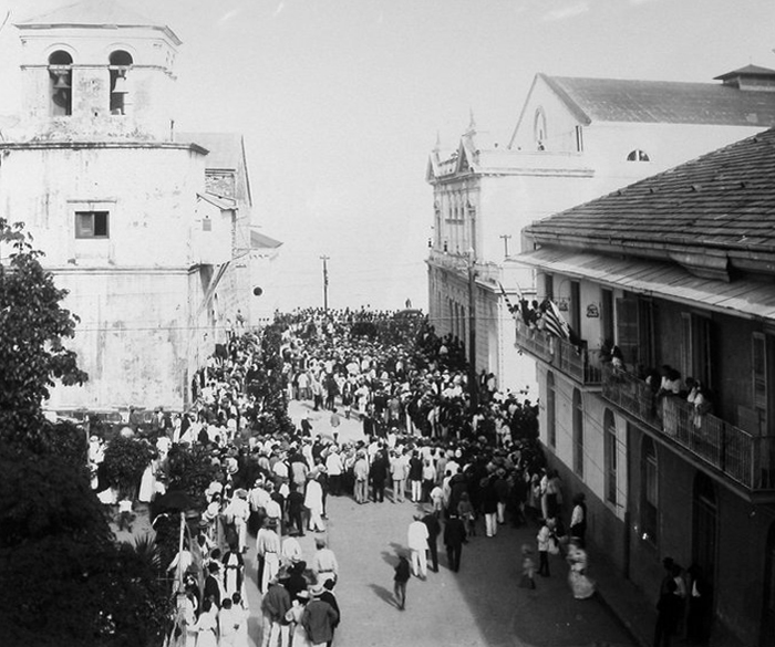 area casco viejo 1924