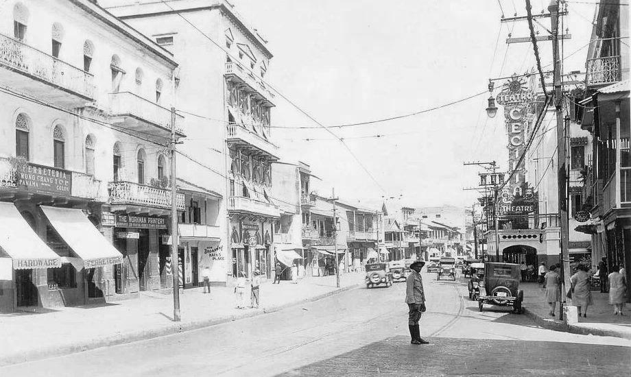 avenida central 1922