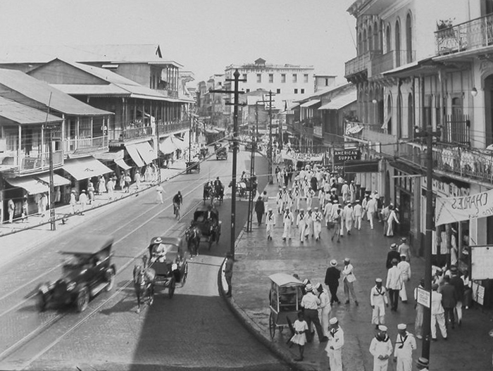 avenida central cerca calle j marzo 1923