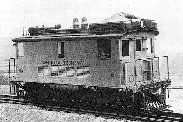 chiriqui land company tren 1930