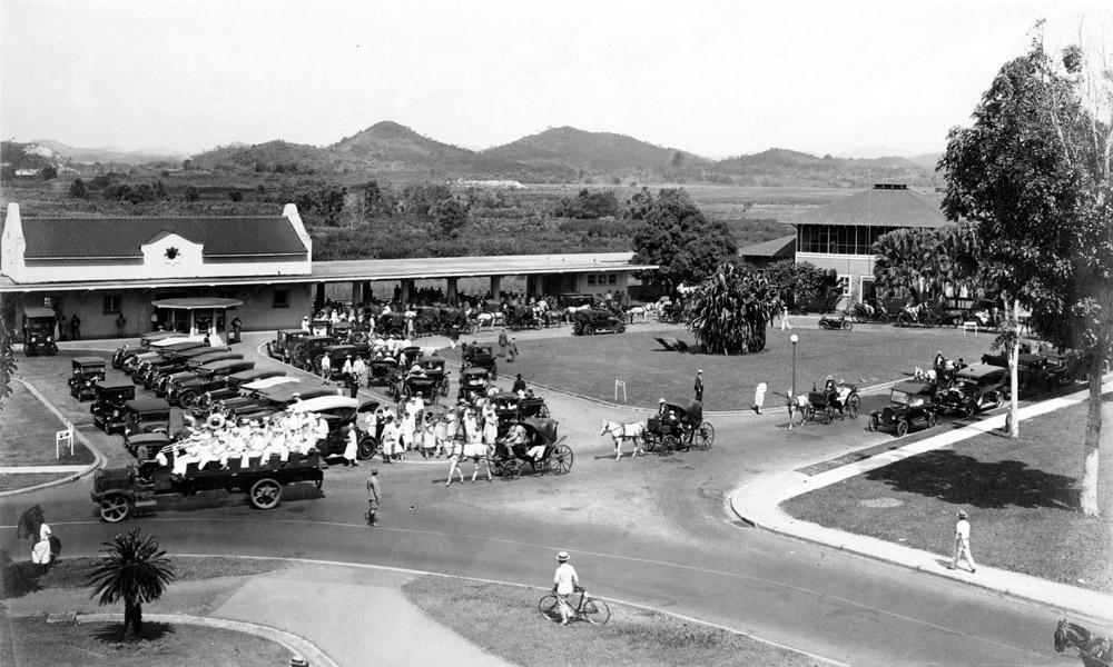 estacion tren balboa enero 1928