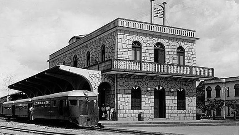 estacion tren david 1920
