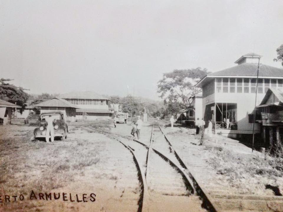 ferrocarril puerto armuelles