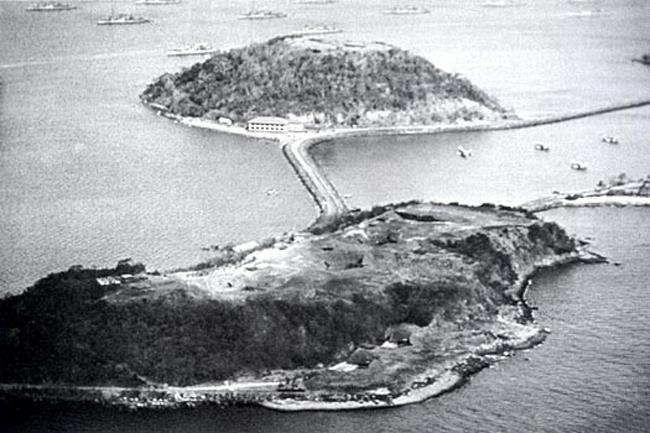 isla Naos y Perico febrero 1923