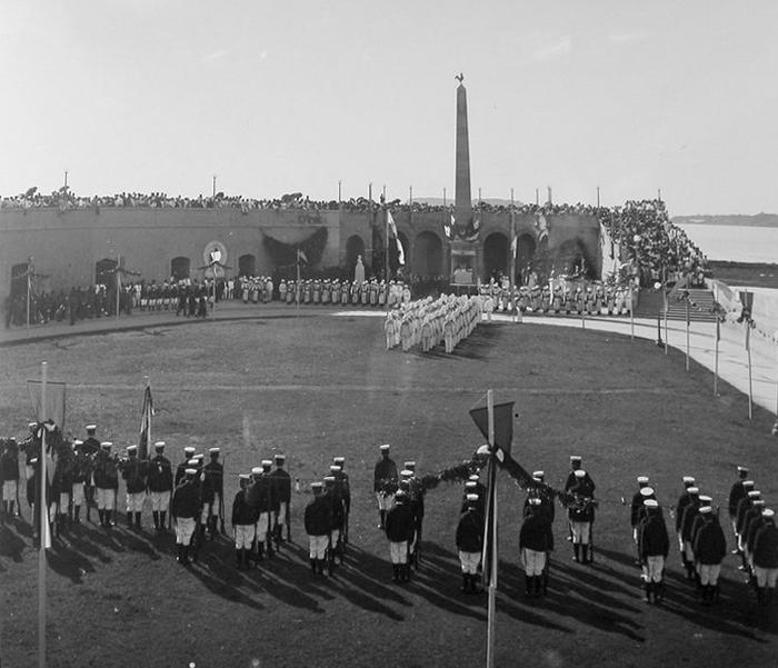 plaza francia inauguracion 1921
