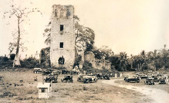 ruinas panama vieja 1928
