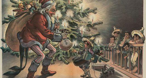 Navidad en el Istmo (caricatura de 1903)
