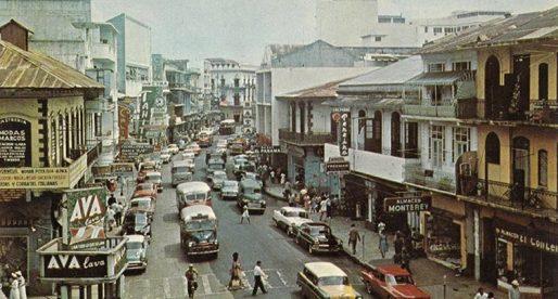 La Ciudad de Panamá en la década de 1960