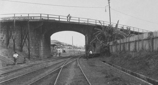 El desaparecido puente de Calidonia