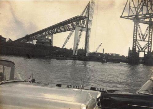 puente americas desde el ferry 1961 2