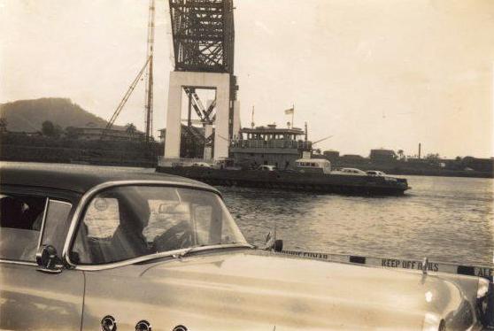 puente americas desde el ferry 1961 3