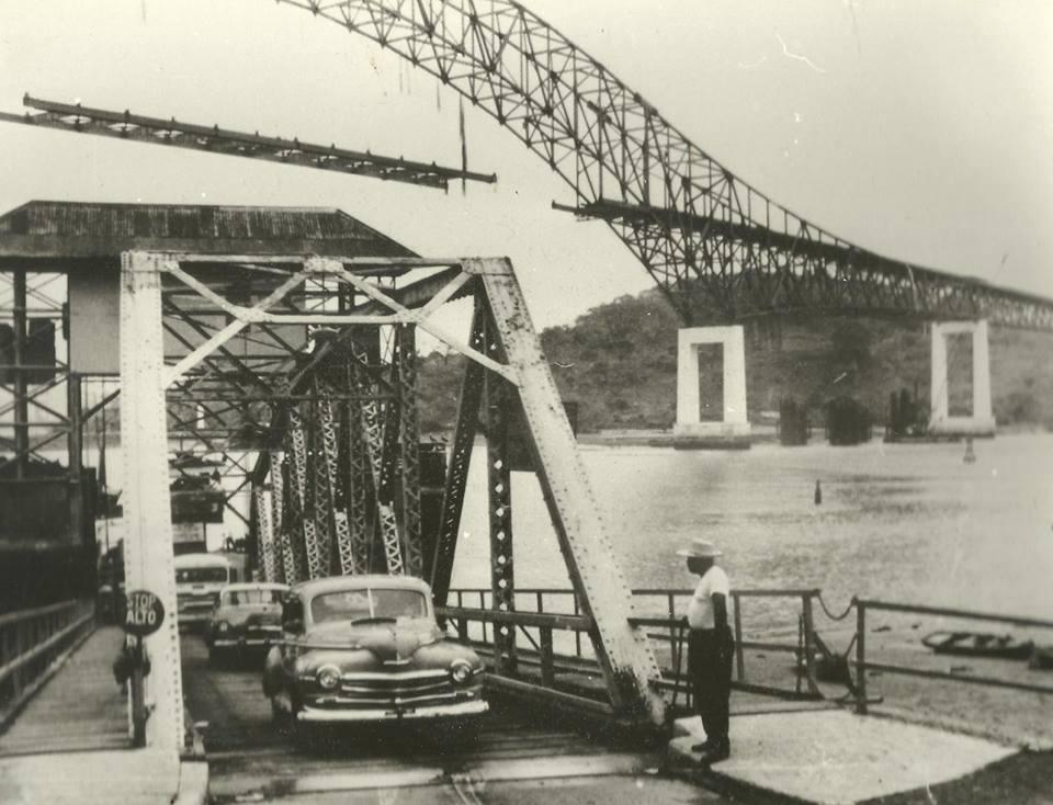 puente de las americas inicios de 1962 ferry