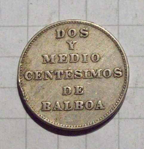 La moneda de 2½ de Balboa